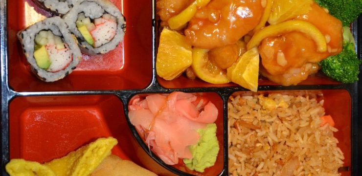 Orange Chicken or Shrimp