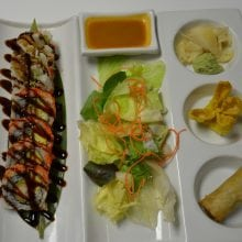 Shrimp Tempura Roll Sushi
