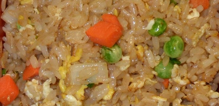 Hibachi Fried Rice Vegetable
