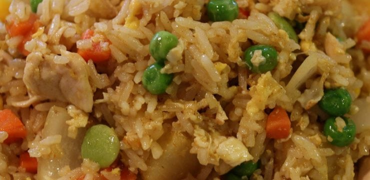 House Special Pineapple Fried Rice
