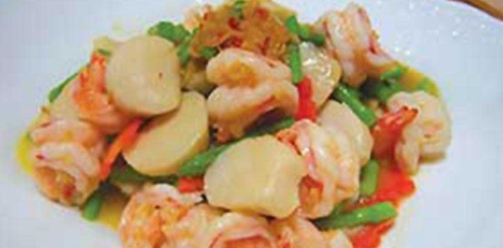 Seafood with XO Sauce