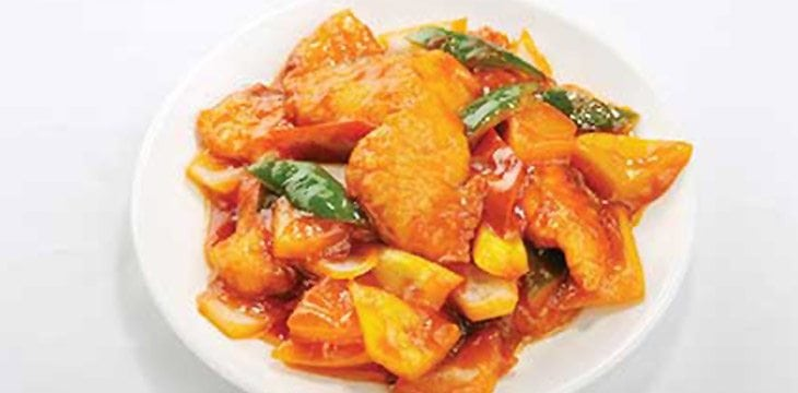 Stir Fried Fish Fillet