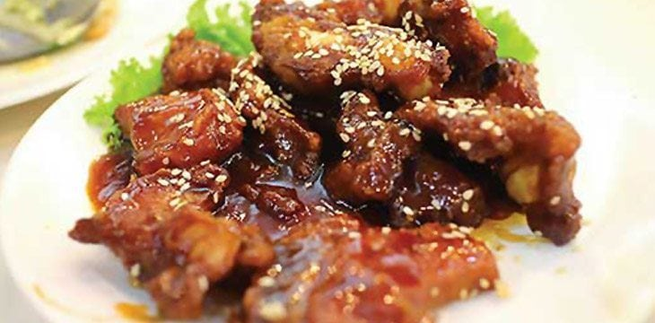 Pork Chop with Peking Sauce