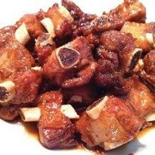 pork rib with garlic