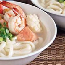 seafood udon noodles